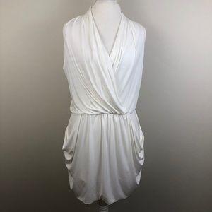 NWT Rachel Rachel Roy White Draped Dress Size 0069
